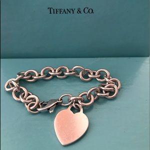 Tiffany & Co. 925 Heart tag bracelet